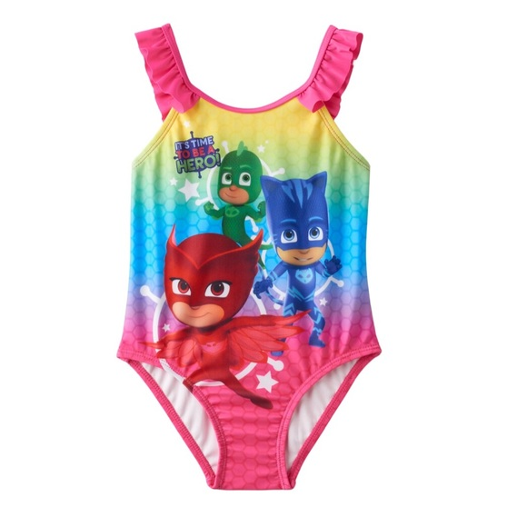 Sz 6-9M NEW Circo Baby Girls Pineapple Tutu 1-Piece Swimsuit Multi-color UPF 50